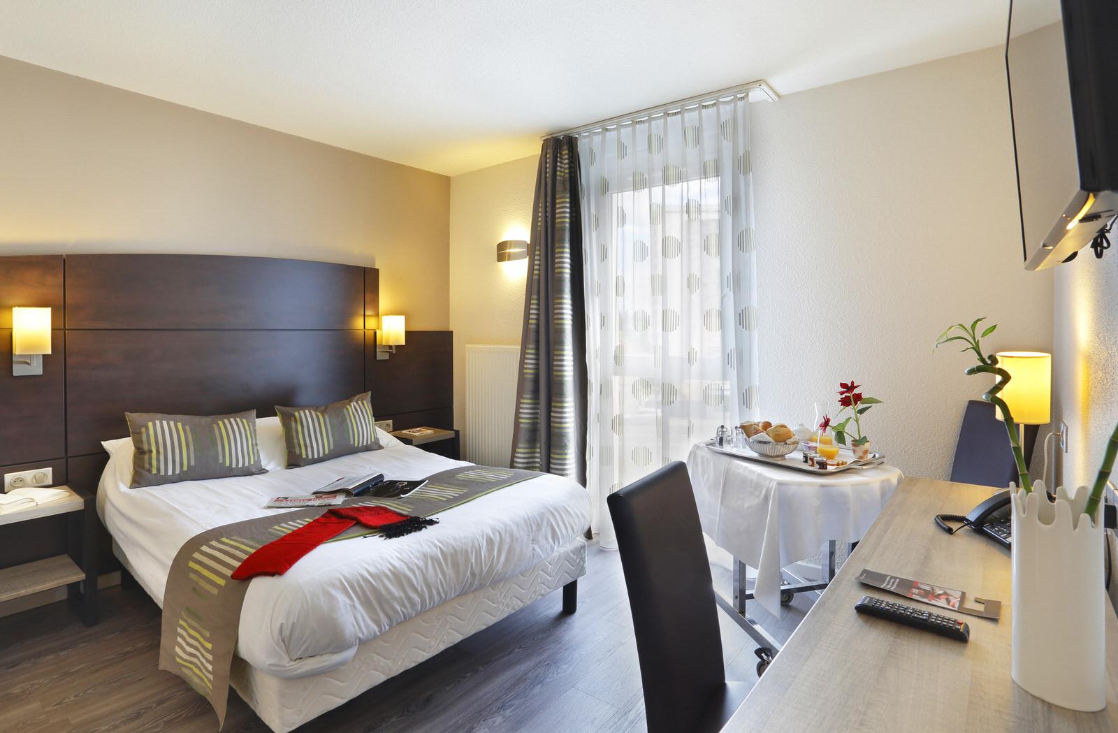 Chambres adaptées hôtel arianis