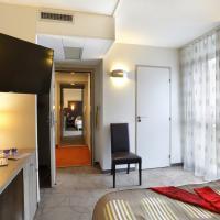 Chambre familiale à l'hôtel Arianis de Sochaux