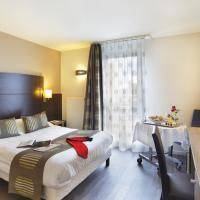 Chambre adaptée à l'hôtel Arianis de Sochaux