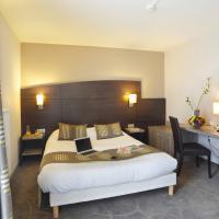 Chambre standard à l'hôtel Arianis de Sochaux