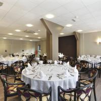 Salle de banquets à l'hôtel Arianis